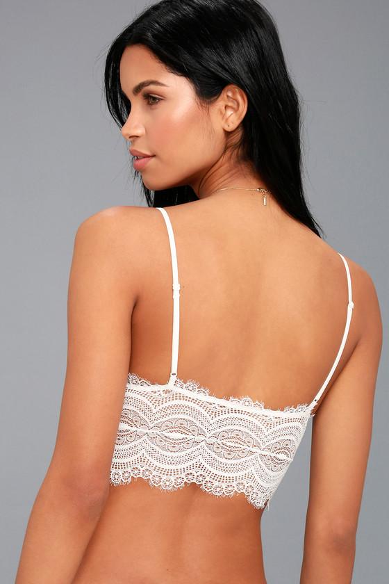 f7ebb33b77 Free People Belle - White Lace Brami - Bra Top - Bralette