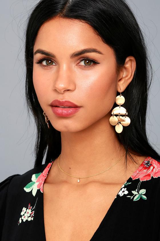 Shayleen Gold Earrings 2