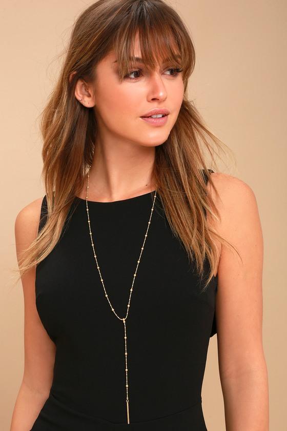 Wear it Well Gold Drop Necklace 2