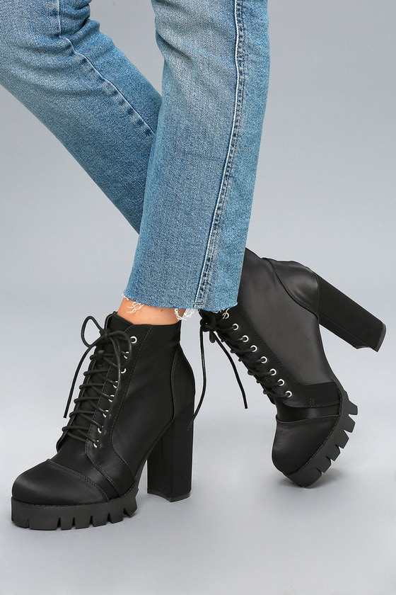 Satin Boots - Lace-Up Boots - Lulus