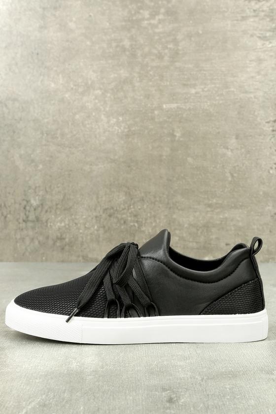 Lulus Wedgie Suede Leather Hidden Wedge Sneakers - Lulus 44Hoa0H