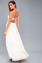 f443fe2cf1f KIVARI Roma - Beige Leopard Print Dress - Halter Maxi Dress