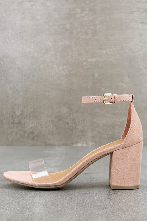 Lulus Pammy Suede Ankle Strap Heels - Lulus 6ZOZNKJ