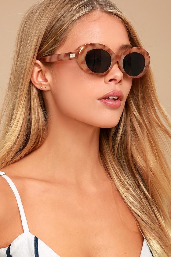 510e569017 Crap Eyewear The Love Tempo - Oval Tortoise Sunglasses