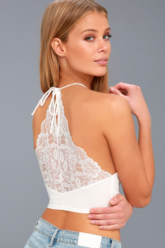 31c492a324 Free People The Century - Lace Brami - White Bralette