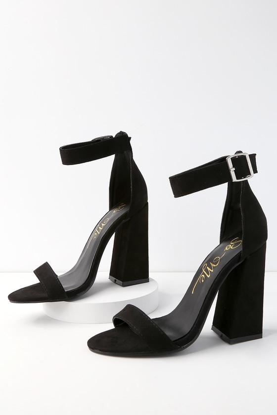 Lulus Shandi Lilac Suede Ankle Strap Heels - Lulus i1PxCGZ