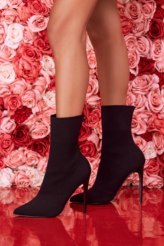 regalo Cuando Innecesario  Steve Madden Century Booties - Black Mid-Calf Boots