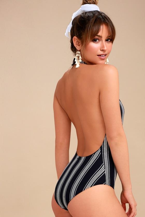 0d05971d2d3901 Billabong Away We Go - Striped Swimsuit - One-Piece Swimsuit