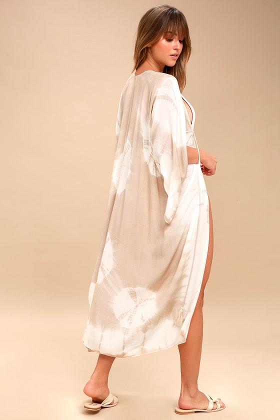 Cute Kimono Top Tie Dye Kimono Top Tie Dye Swim Coverup Lulus
