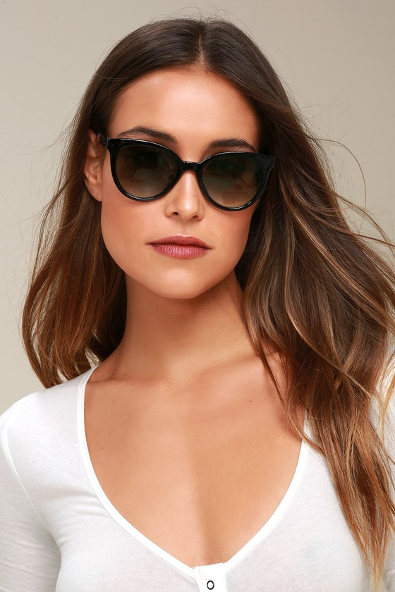 Cute Black Sunglasses Black Tinted Sunglasses