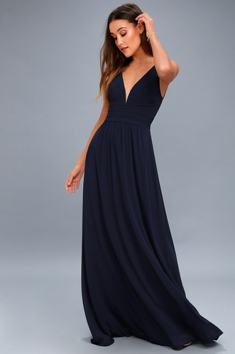 9296646ee79 Leading Role Navy Blue Maxi Dress. Quick View · Navy Blue · Taupe · Black