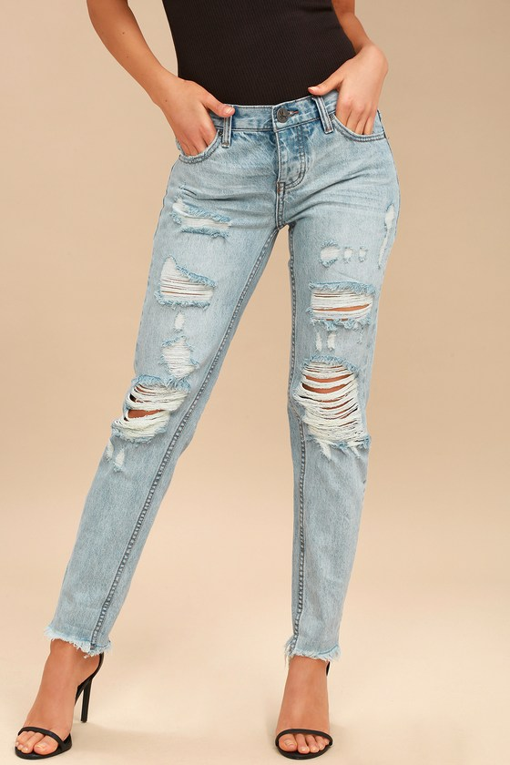 18ad78808d2 One X One Teaspoon Awesome Baggies - Medium Wash Jeans