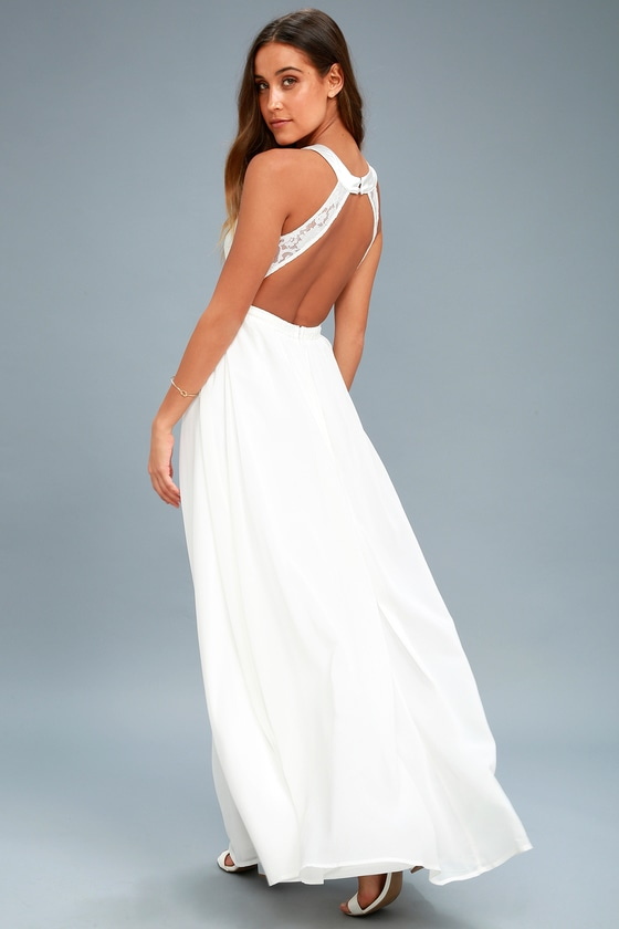 lovely white lovely white lace maxi dress white lace gown formal maxi 2637