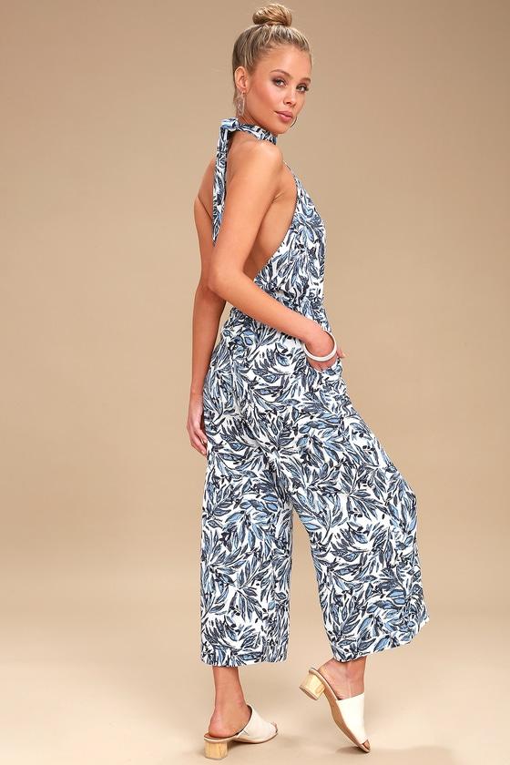 13d733dce861 Tavik Copeland - Halter Jumpsuit - Printed Jumpsuit