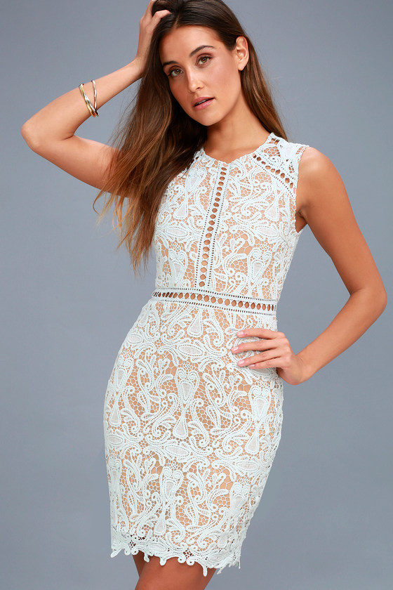 Lace bodycon dress forecasting dress for autumn in 2019