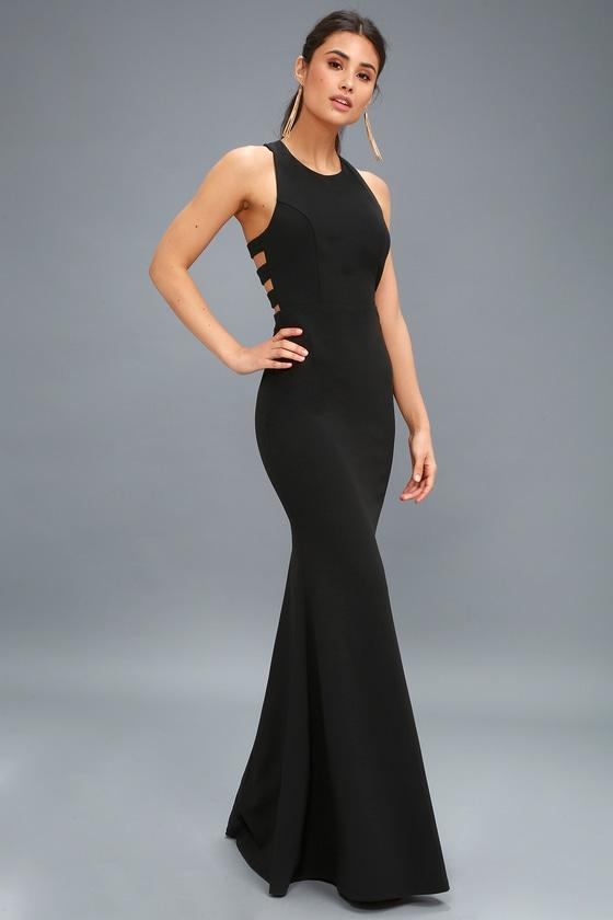 fb464c8aca5 Sexy Black Maxi Dress - Backless Dress - Backless Maxi Dress
