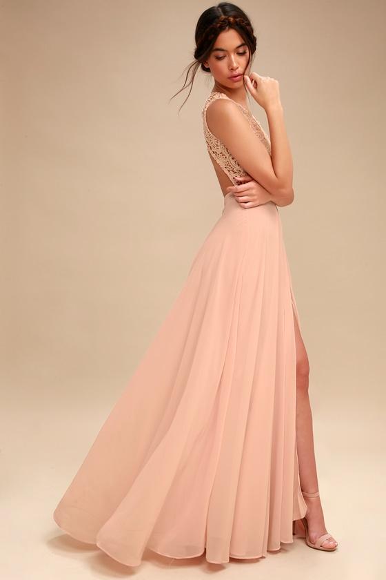 d323c42929c Stunning White Maxi Dress Lace Maxi Dress Bridal Dress