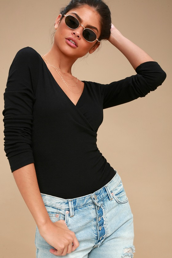 369cbf1cdd11 landon-black-ribbed-long-sleeve-bodysuit by ppla