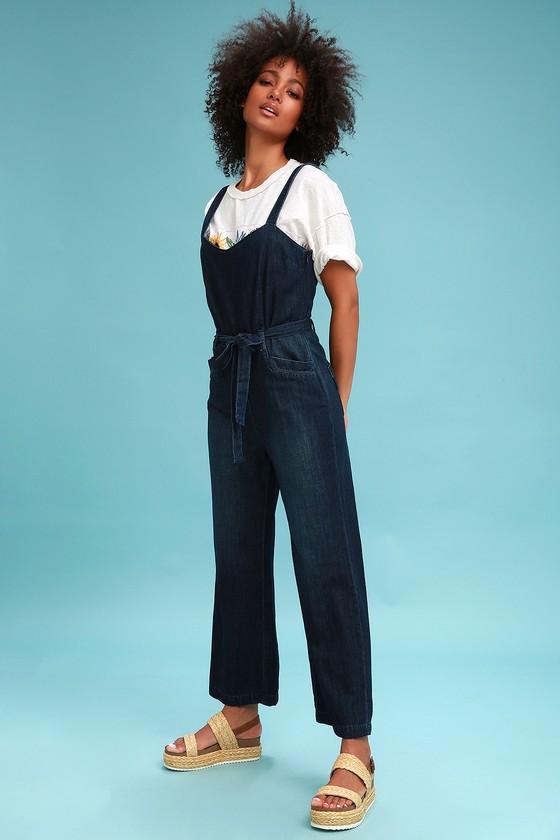 549c3ccd8c7 Paige EMMA DARK WASH DENIM JUMPSUIT – Mod and Retro Clothing