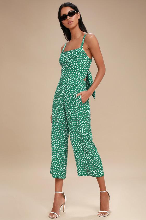 a1c054691e57 Faithfull the Brand Playa Jumpsuit - Green Jumpsuit