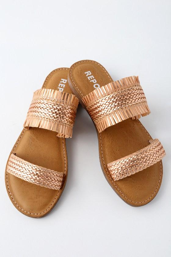 Lulus Oralia Slide Sandal Heels - Lulus oJrp1L5K