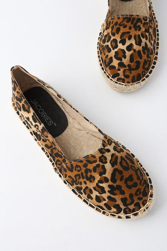 a31fb0ff38ad Mabry Leopard Print Slip-On Espadrille Flats