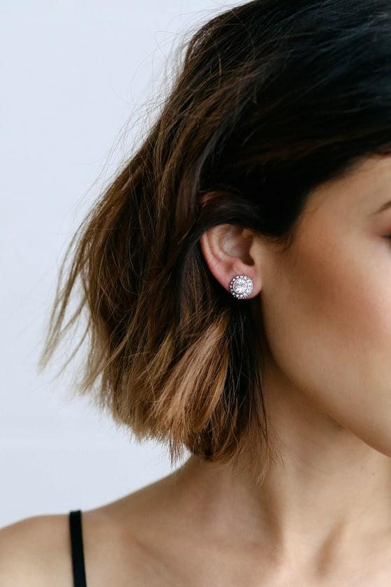 545ce852fe693 Realized Potential Silver Rhinestone Earrings