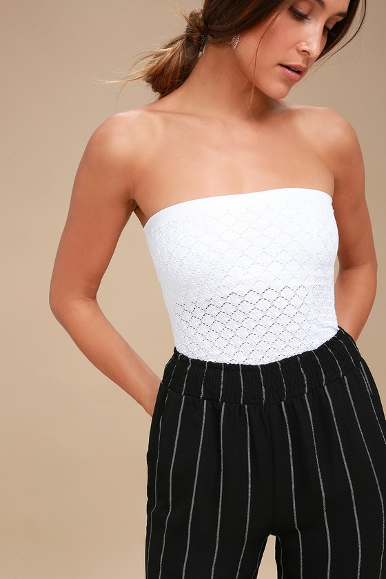 9f1d5c98a713 Free People Honey Textured Tube - White Tube Top