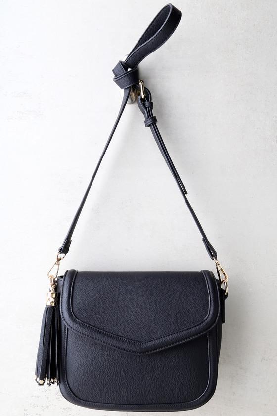 100be739c84e Chic Black Purse - Crossbody Bag - Vegan Leather Purse -  39.00