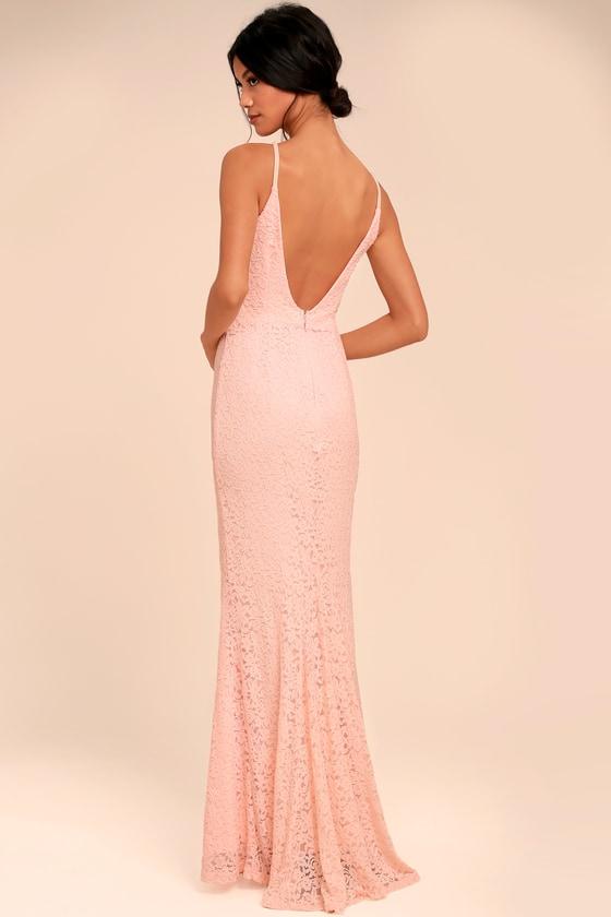 Maxi Dresses for Wedding Peach