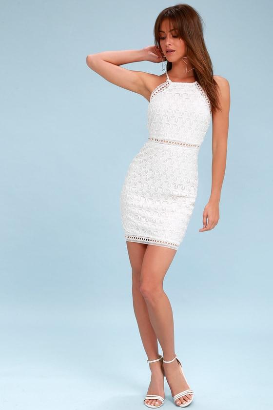 Sheath White Dress \u2013 Fashion dresses