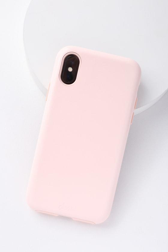 best website 2dd7a 08976 Millennial Pink Patent iPhone X Case