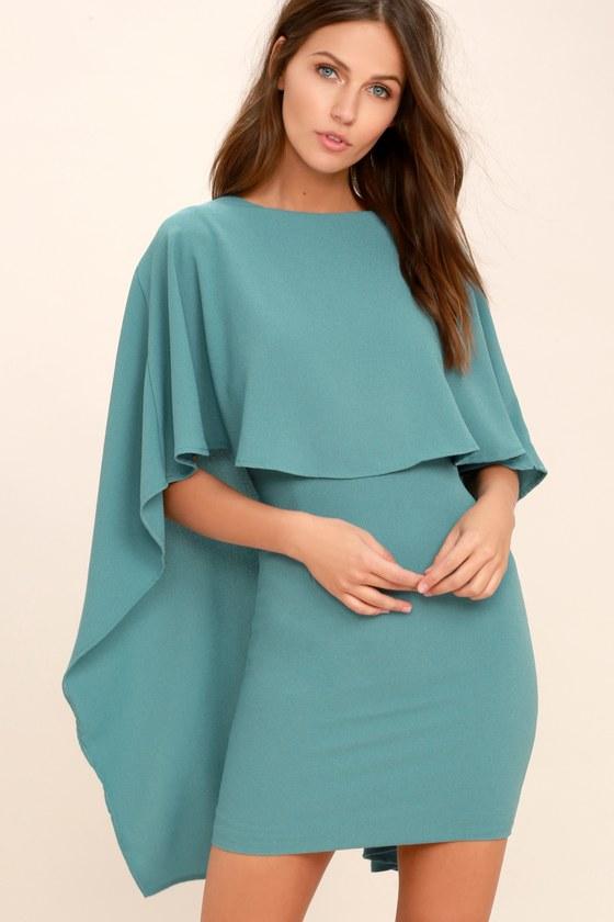 Blue Turquoise Dress
