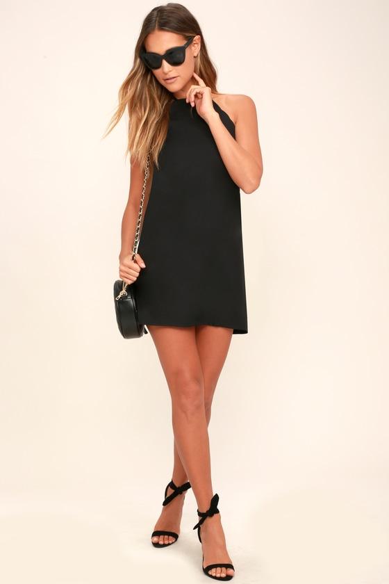 e8f6e3aa01194 Sexy Black Dress - LBD - Sleeveless Dress - Scalloped Dress