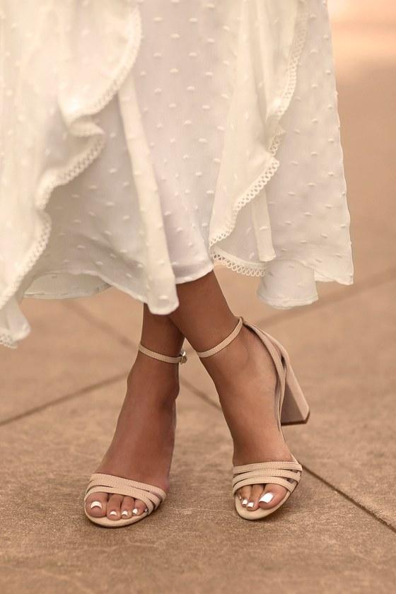 Lulus Shayla Ankle Strap Heels - Lulus XY0OWcS