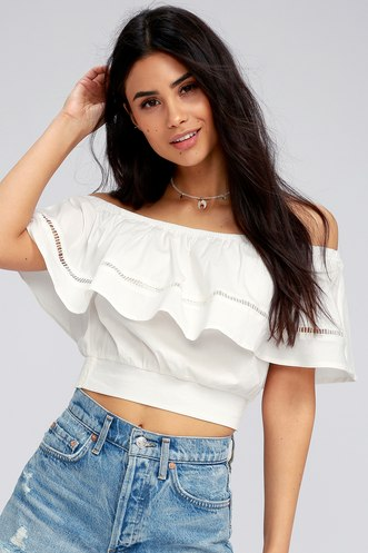 3c5628c5e2f96 Find a Cute Off-Shoulder Casual Dress at a Great Price | Trendy ...