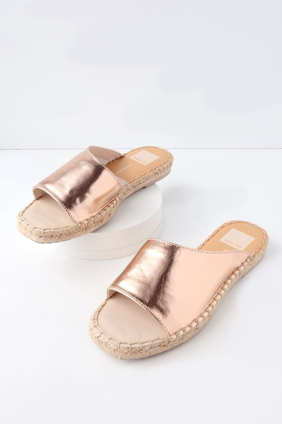 Lulus Banji Off- Espadrille Slide Sandal Heels - Lulus zlP29O9t0g