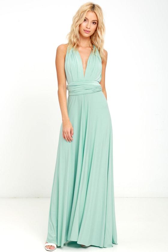 Convertible Maxi Dress