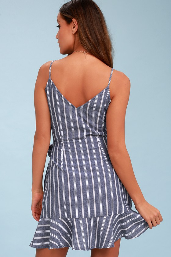 The Fifth Label Voyage Blue Amp White Dress Striped Dress