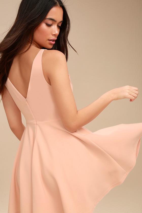 Blush Skater Dress
