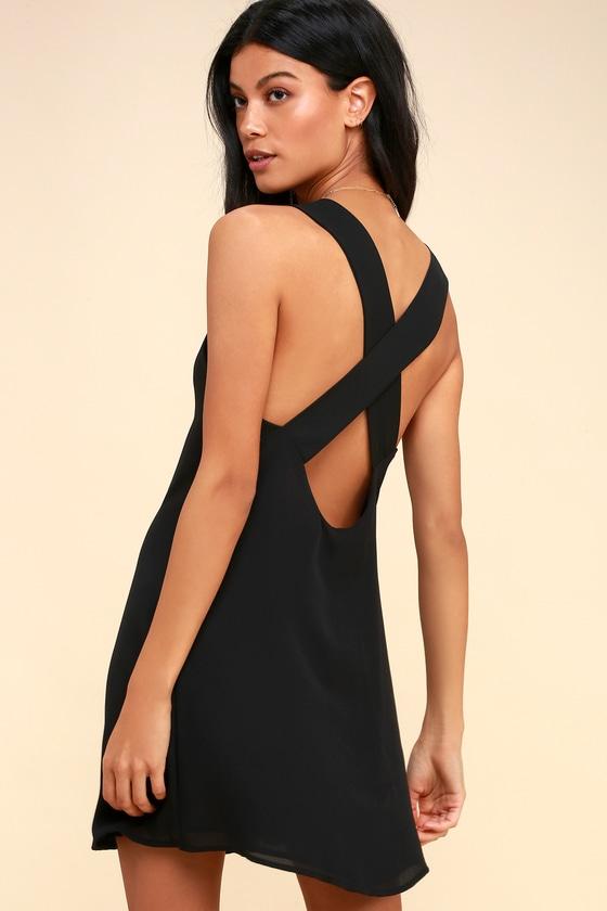 5a735cdd0d165d Sexy Black Dress - Sleeveless Dress - Sleevless Shift Dress