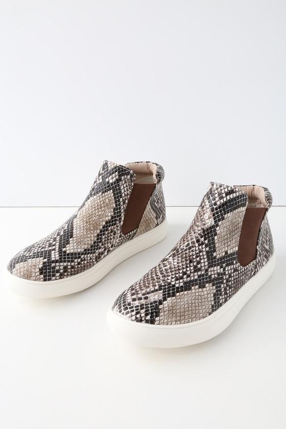 Coconuts Harlan - Snake Print Sneakers