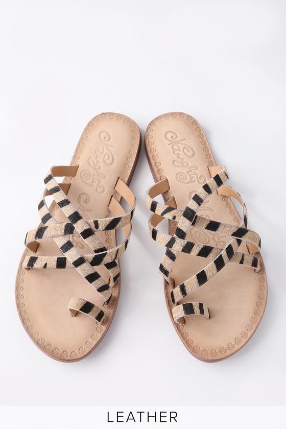 Lulus Zooche Leopard Print Pony Fur Slide Sandal Heels - Lulus OepjgPbQ8