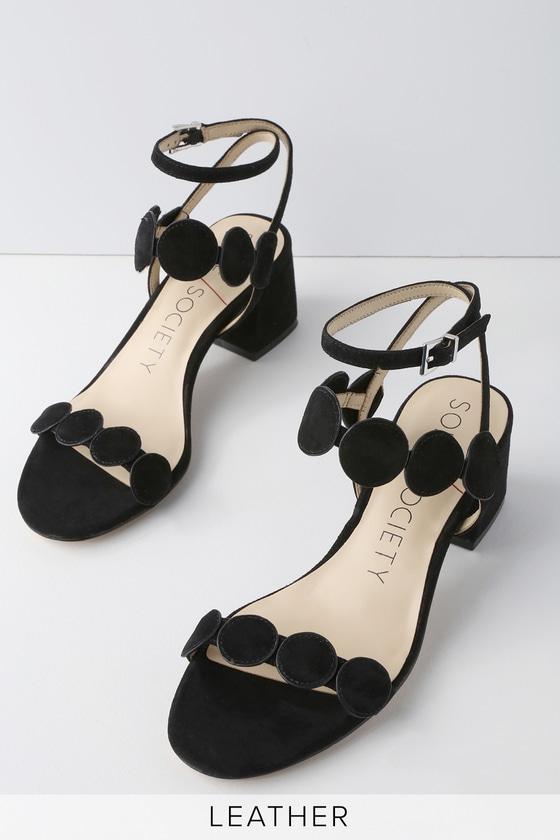 Lulus Tessa Nappa Kid Suede Flat Sandal Heels - Lulus vSPhBSRjJ6