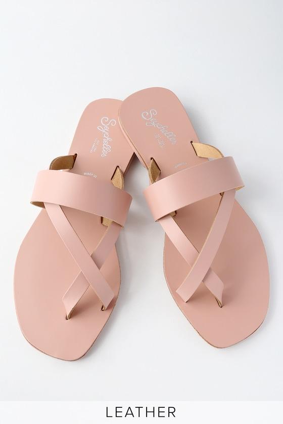 ca1ed068f4e1 Seychelles Destiny - Cute Flat Sandals - Pink Sandals