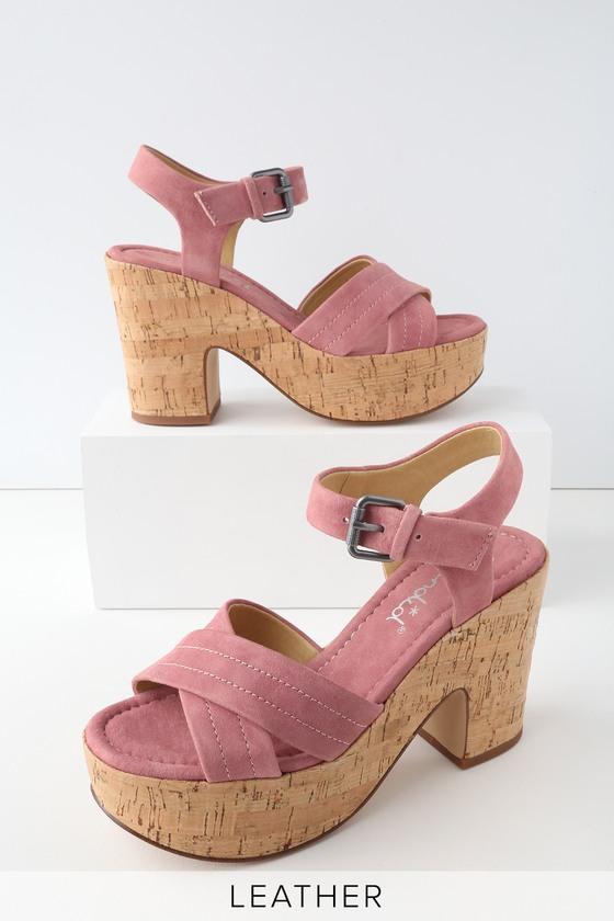 Lulus Tara Nappa Leather Slide Sandal Heels - Lulus XXno6
