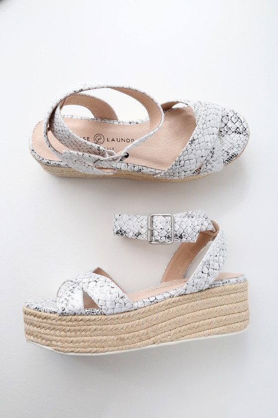 d44645efc26d Chinese Laundry Zala - White and Silver Sandals