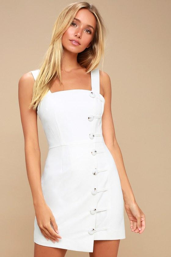Finders Keepers Mila - Ivory Dress - Mini Dress 1ec514a08