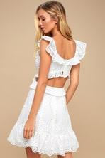 db86b7744 BB Dakota A Lace of You - White Dress - White Lace Dress - LWD