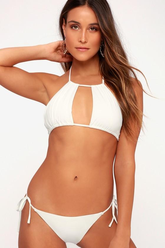 010a57cbbf6 Tee Ink Elle - White String Bikini - String Bikini Bottom